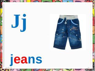 * * Jj jeans