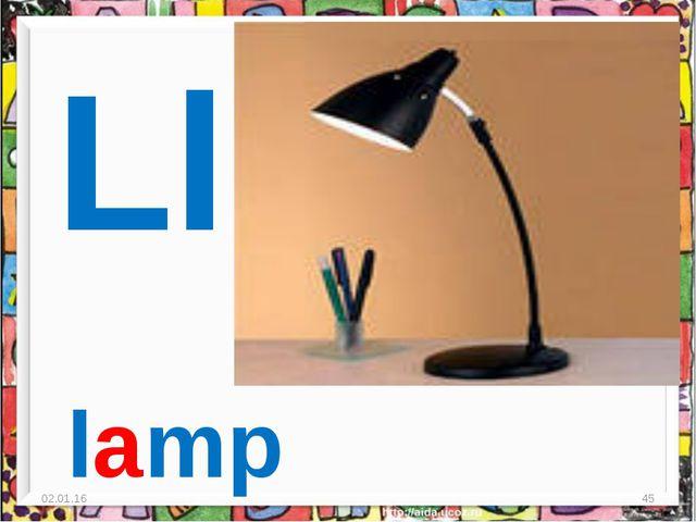 * * Ll lamp