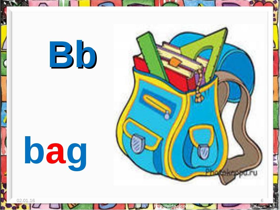 * * Bb bag