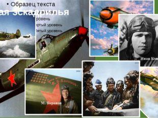 Лётная эскадрилья Иван Кожедуб М. Баранов