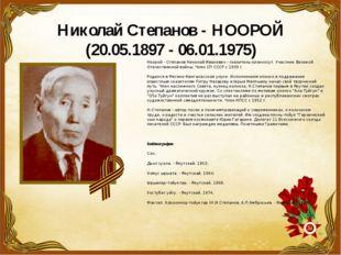 Николай Степанов -НООРОЙ (20.05.1897 - 06.01.1975) Ноорой - Степанов Николай