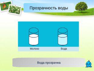 Вода прозрачна  МолокоВода