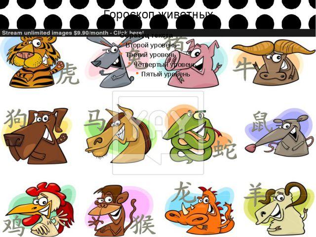 Гороскоп животных