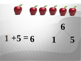 1 + 6 6 = 5 1 5