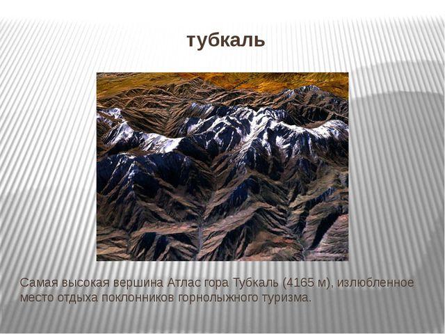 тубкаль Самая высокая вершина Атлас гора Тубкаль (4165 м), излюбленное место...