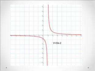 У=3/х-2