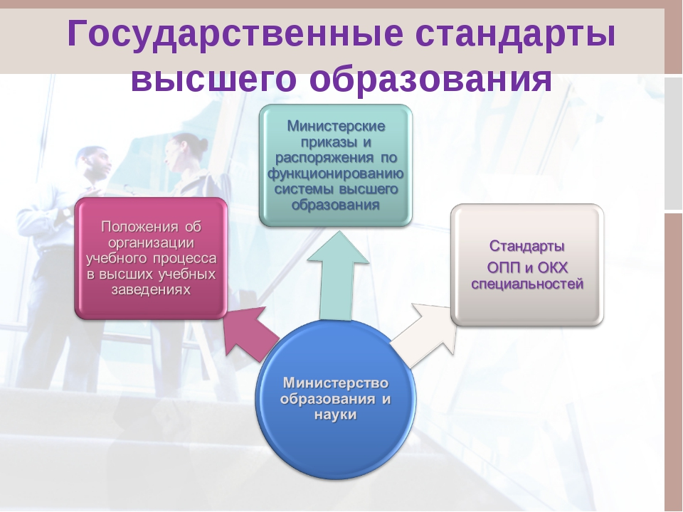 Государственные стандарты высшего образования