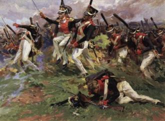Картины Бородинской битвы. Хозяева дома.