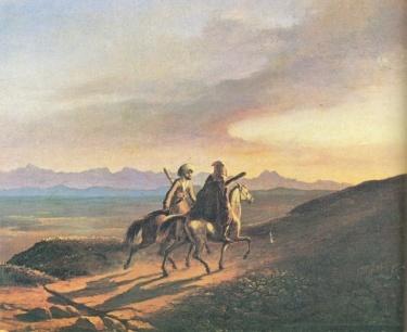 https://upload.wikimedia.org/wikipedia/commons/5/5a/Lermontov_Vospominanie_o_Kavkaze_Oil_1838.jpg