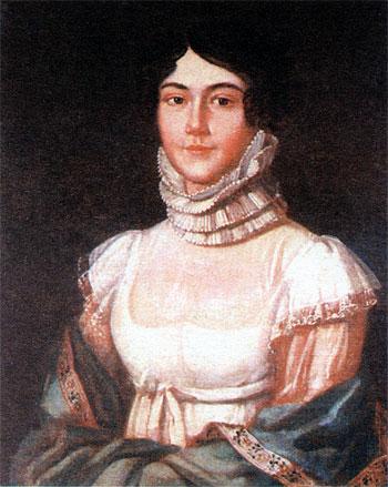 М. М. Лермонтова, мать поэта. - 1981