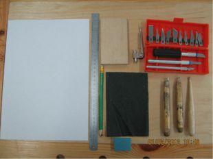 Какие инструменты нужны для резьбы?