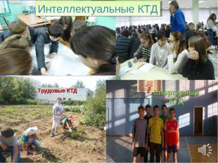 Трудовые КТД Интеллектуальные КТД Спортивные КТД