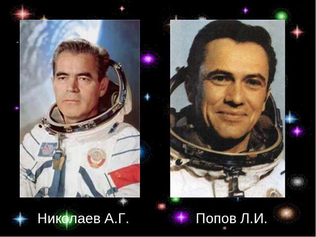 Николаев А.Г. Попов Л.И.
