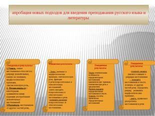 Среднесрочное планирование в серии последовательных уроков по русской речи в