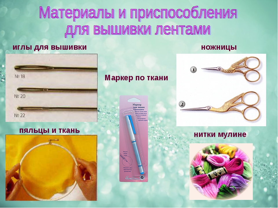 иглы для вышивки пяльцы и ткань ножницы Маркер по ткани нитки мулине