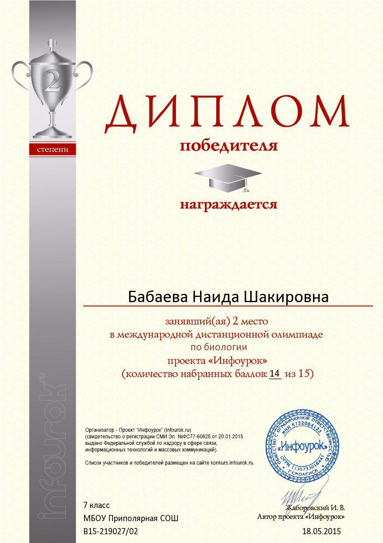 F:\документы ОНочевчук\4.2 победители\5 диплом 2 степени биология.jpg