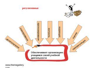 www.themegallery.com регулятивные Обеспечивают организацию учащимся своей уче