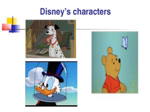 Disney's characters