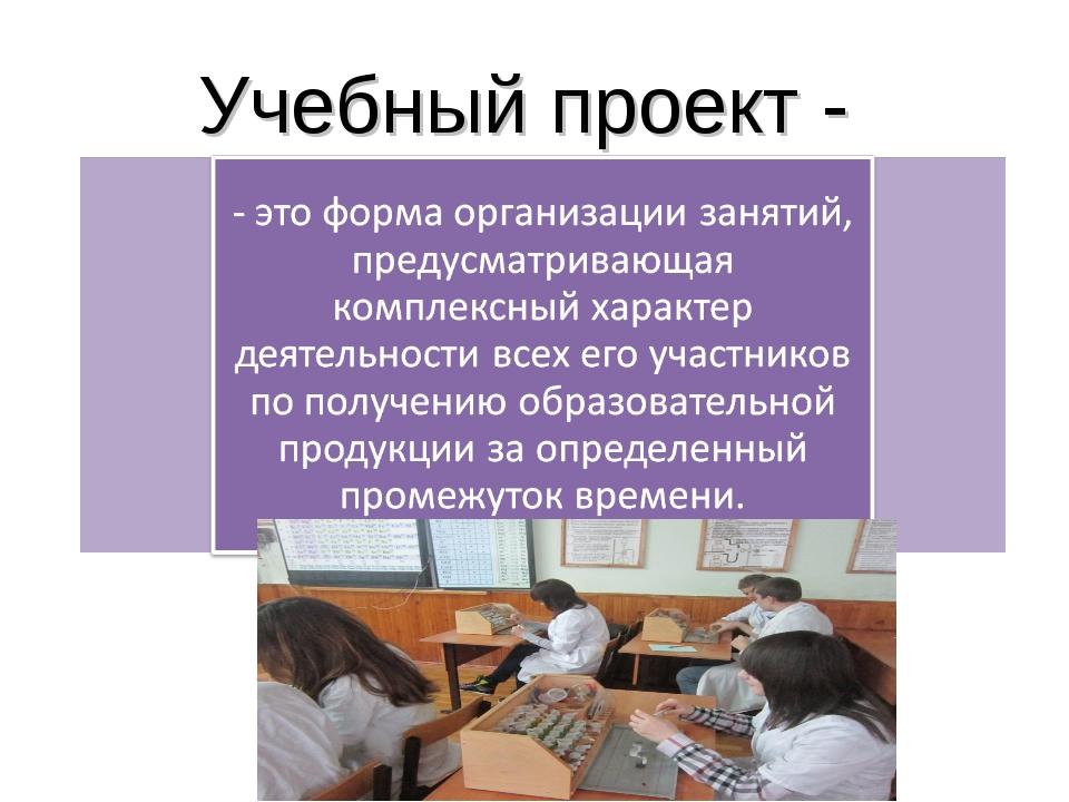 Учебный проект -