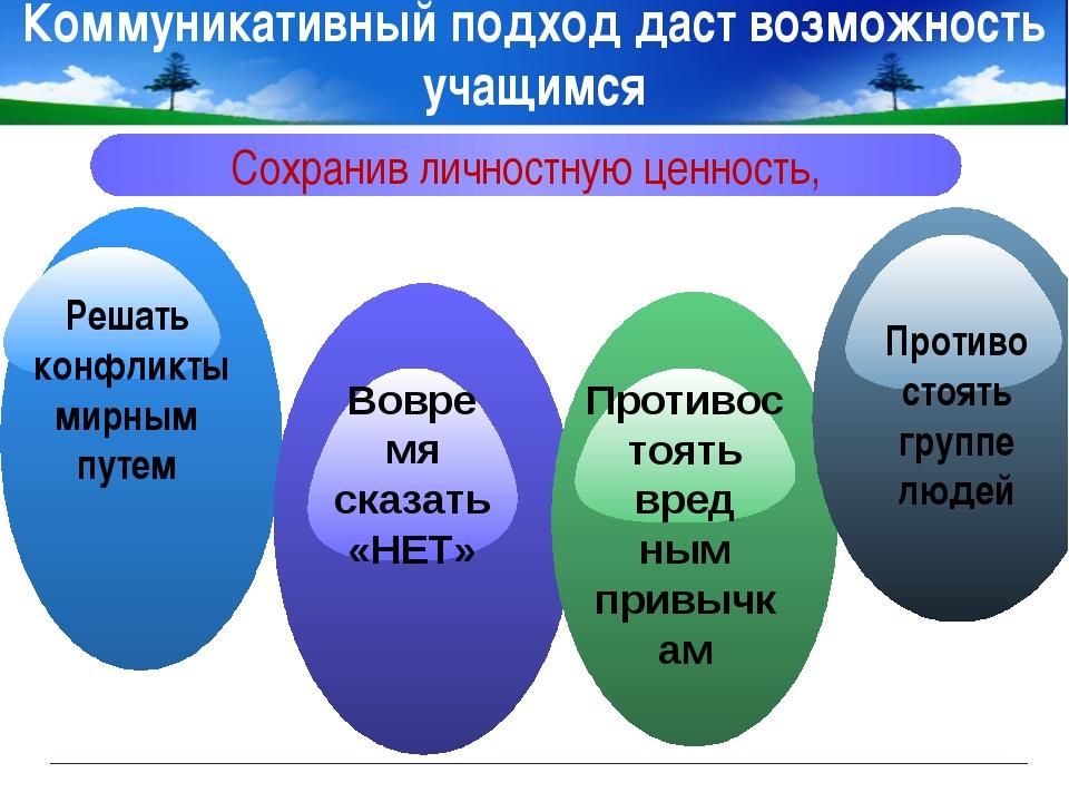 www.themegallery.com Company Logo Коммуникативный подход даст возможность уча...