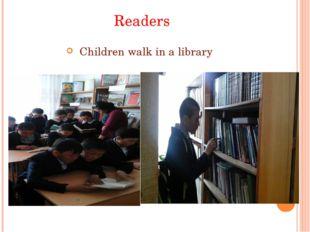 Readers Childrenwalkinalibrary
