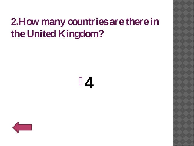 10.Who is the current monarch in Britain? Queen Elizabeth II