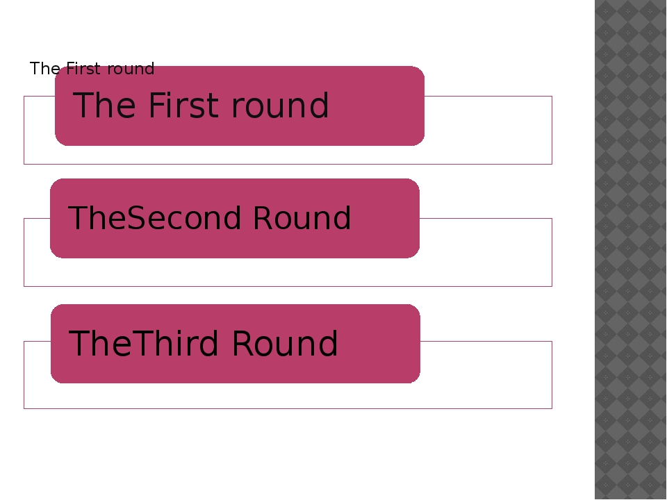 The Third round 1.(Red questions) 2.(Yellow questions) 3.(Blue questions) 4.(...