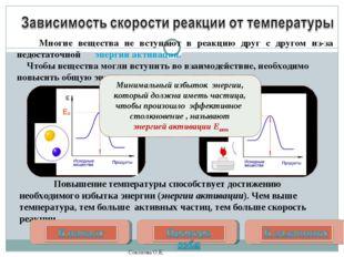 Повышение температуры способствует достижению необходимого избытка энергии (