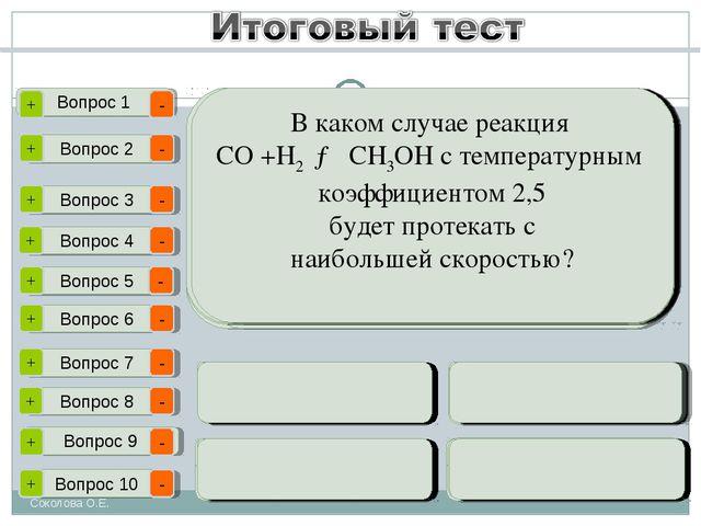 Соколова О.Е. Вопрос 1 Вопрос 2 Вопрос 3 Вопрос 4 Вопрос 5 Вопрос 6 Вопрос 7...