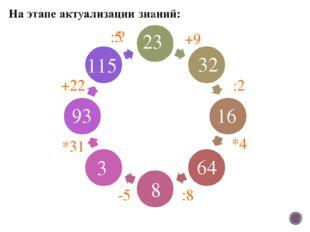 23 32 16 64 93 115 3 8 +9 :2 *4 :8 -5 *31 +22 :? :5