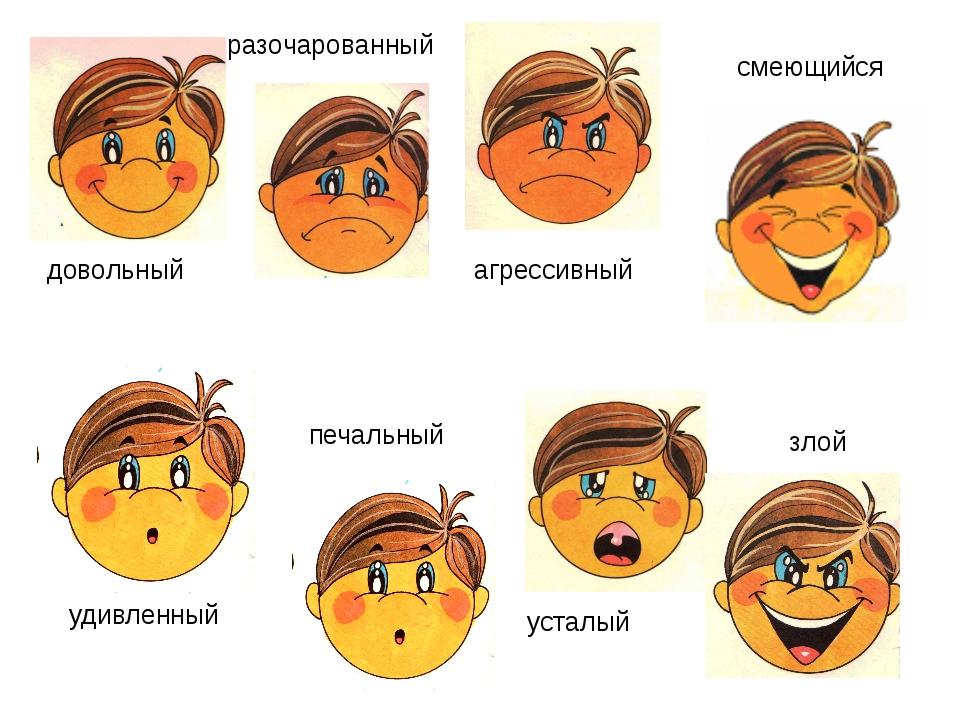 модель эмоции в картинках для занятия вопрос