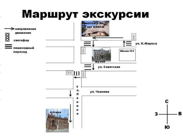 Кинотеатр им. 30 лет ВЛКСМ. - Ребята, сегодня мы совершим экскурсию по улице...