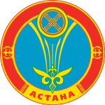 http://upload.wikimedia.org/wikipedia/commons/thumb/8/8a/New_coat_of_arms_of_Astana.svg/150px-New_coat_of_arms_of_Astana.svg.png