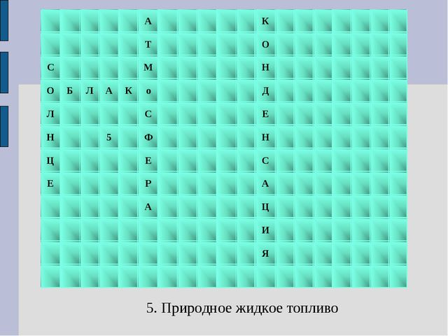 5. Природное жидкое топливо АК Т...