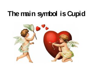 The main symbol is Cupid
