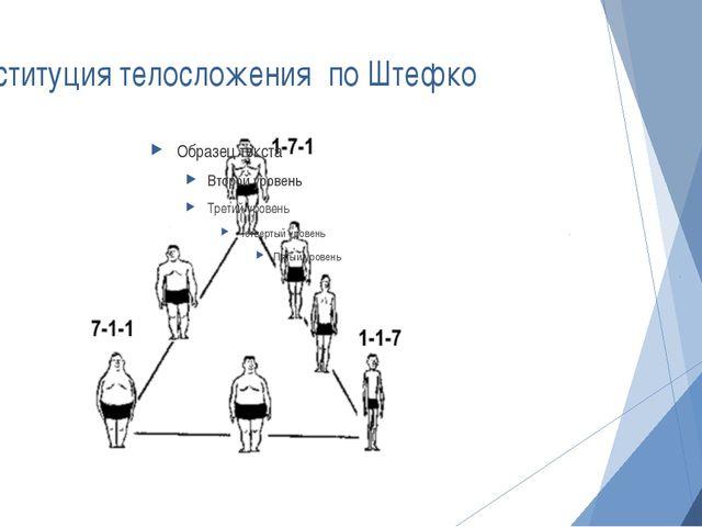 Конституция телосложения по Штефко
