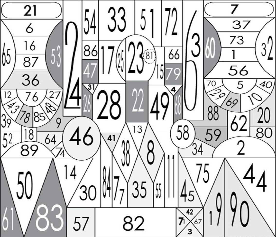 картинки с цифрами для памяти