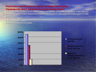 Результаты социологического опроса населения Ново-Сырово. Строительству каког