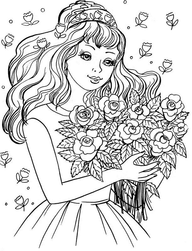 Скачать бесплатно расскраску для девочек - раскаски - Креатив - Каталог файлов - лучшиый варез рунета