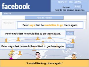 """Post to Profile """"I would like to go there again."""" Peter says that he would li"""