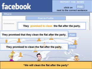 """Post to Profile """"We will clean the flat after the party"""" They promised to cle"""