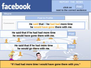 """Post to Profile """"If I had had more time I would have gone there with you."""" He"""