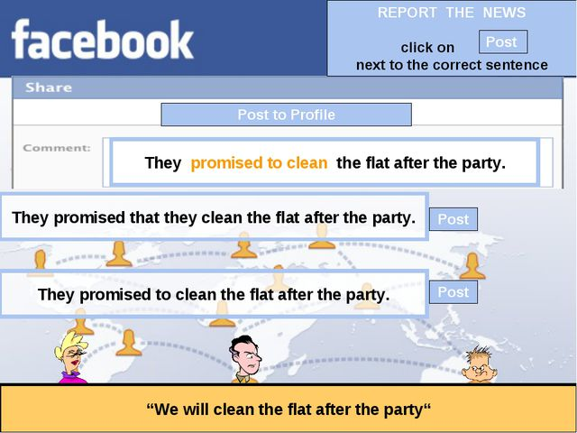 """Post to Profile """"We will clean the flat after the party"""" They promised to cle..."""