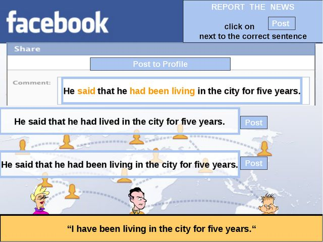 """Post to Profile """"I have been living in the city for five years."""" He said that..."""