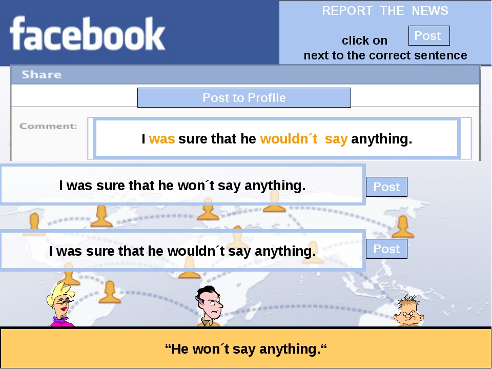 """Post to Profile """"He won´t say anything."""" I was sure that he wouldn´t say anyt..."""
