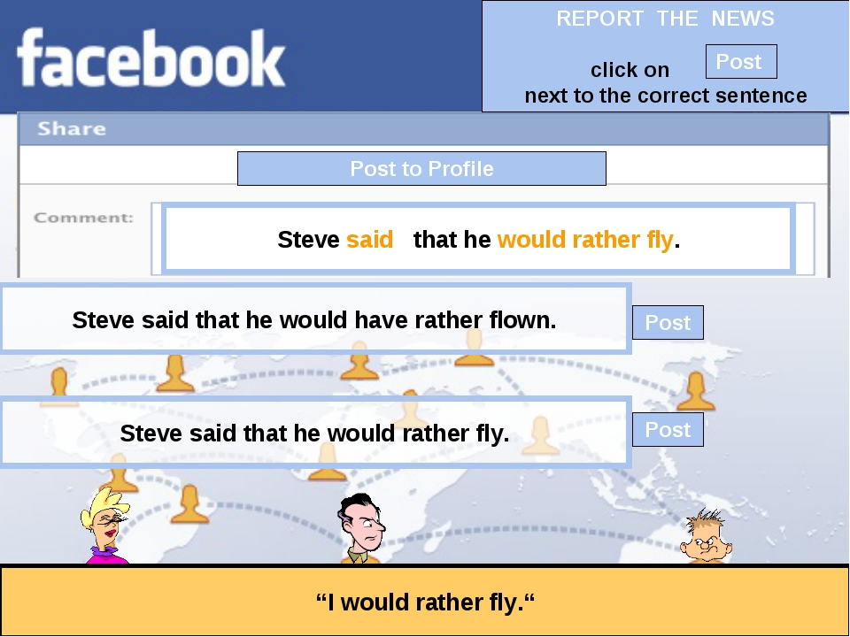 """Post to Profile """"I would rather fly."""" Steve said that he would rather fly. St..."""
