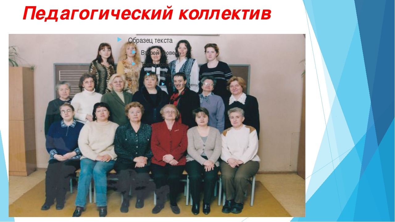 Педагогический коллектив