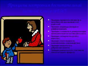 Принципы построения воспитательной системы класса (ФГОС) Принцип приоритета