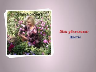 Мои увлечения: Цветы