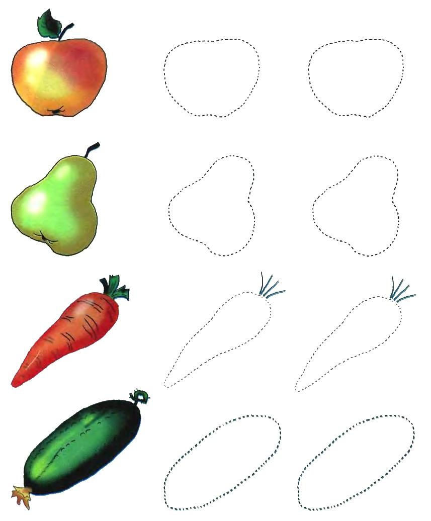 Картинки, овощи и фрукты картинки с заданиями
